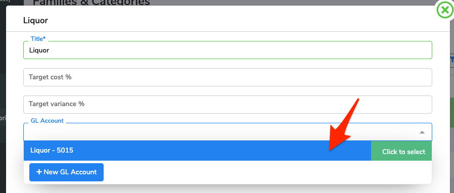 An arrow points to select one of the options from the drop-down menu.